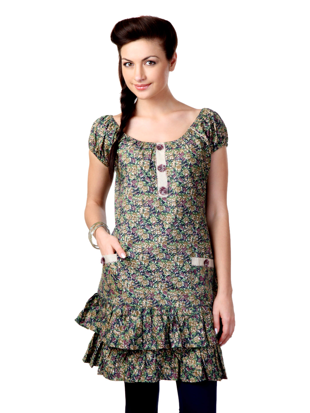 Sritika Women Multicolour Printed Tunic