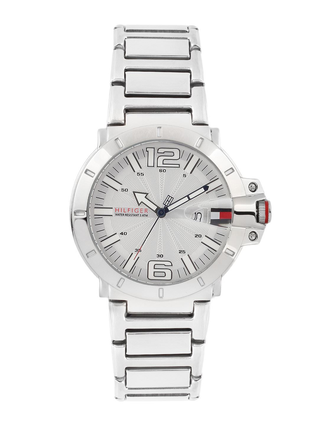 Tommy Hilfiger Men White Dial Watch