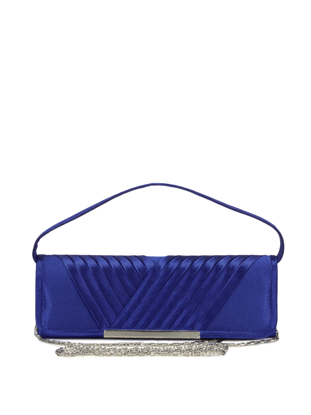 ToniQ Women Blue Clutch