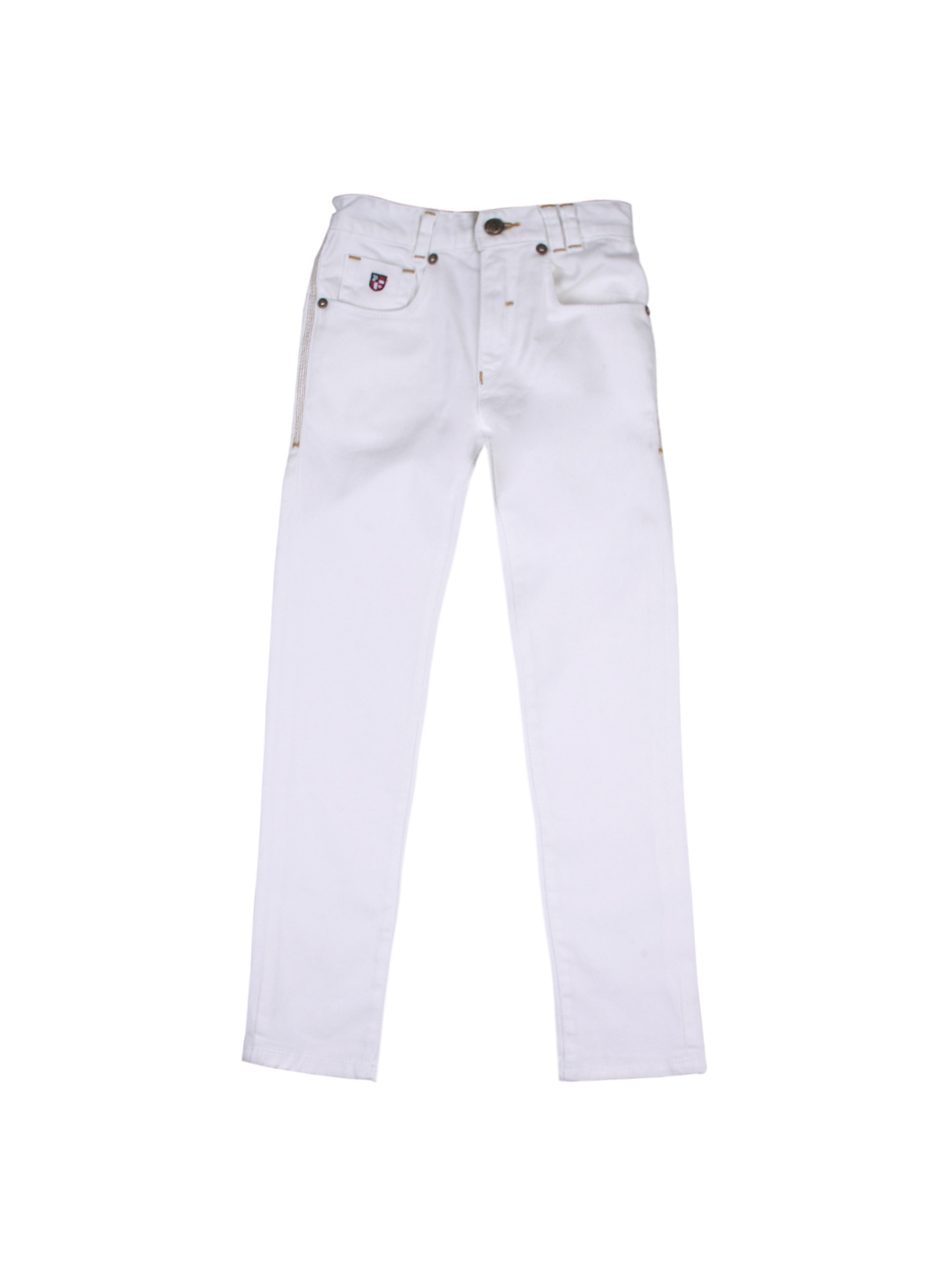 Buy U.S. Polo Assn. Kids Unisex White Jeans - Jeans for Unisex
