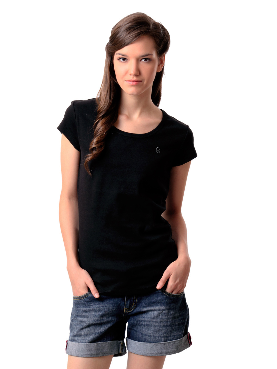 black t shirt model woman - photo #18