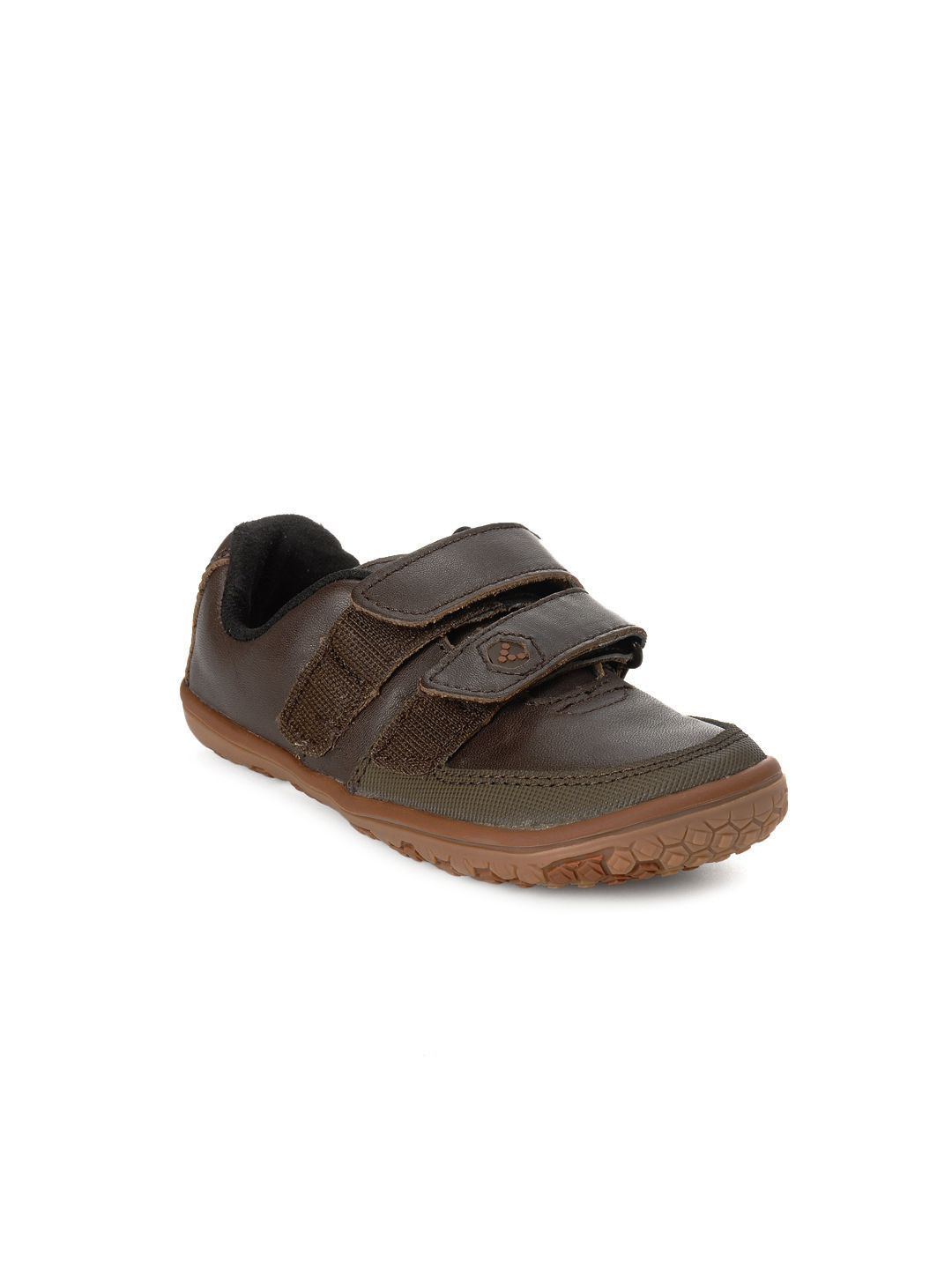 VIVOBAREFOOT Kids Unisex Rooty Brown Shoes