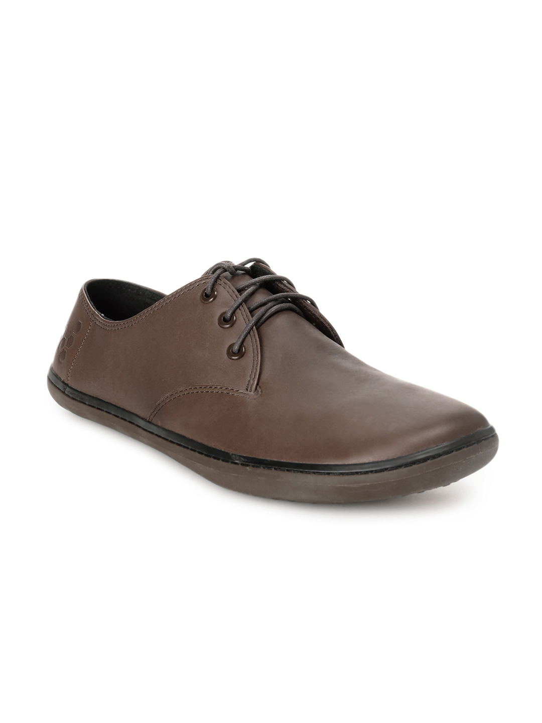VIVOBAREFOOT Men Brown Formal Shoes