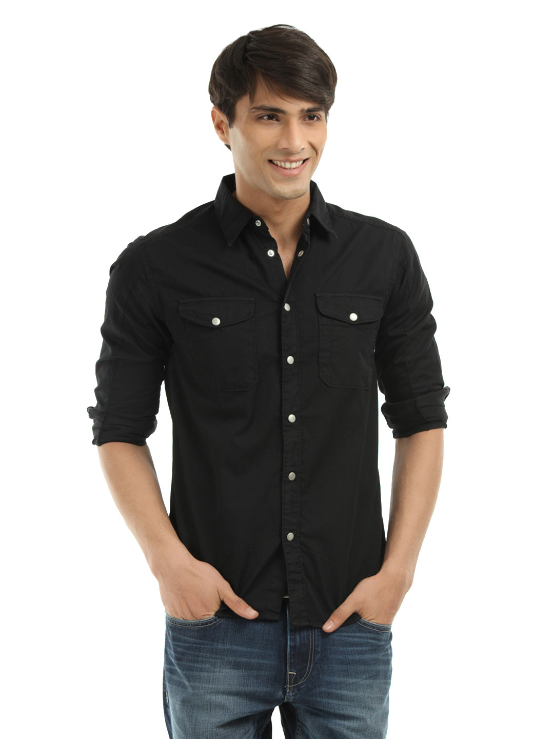 jeans black shirt bbg clothing