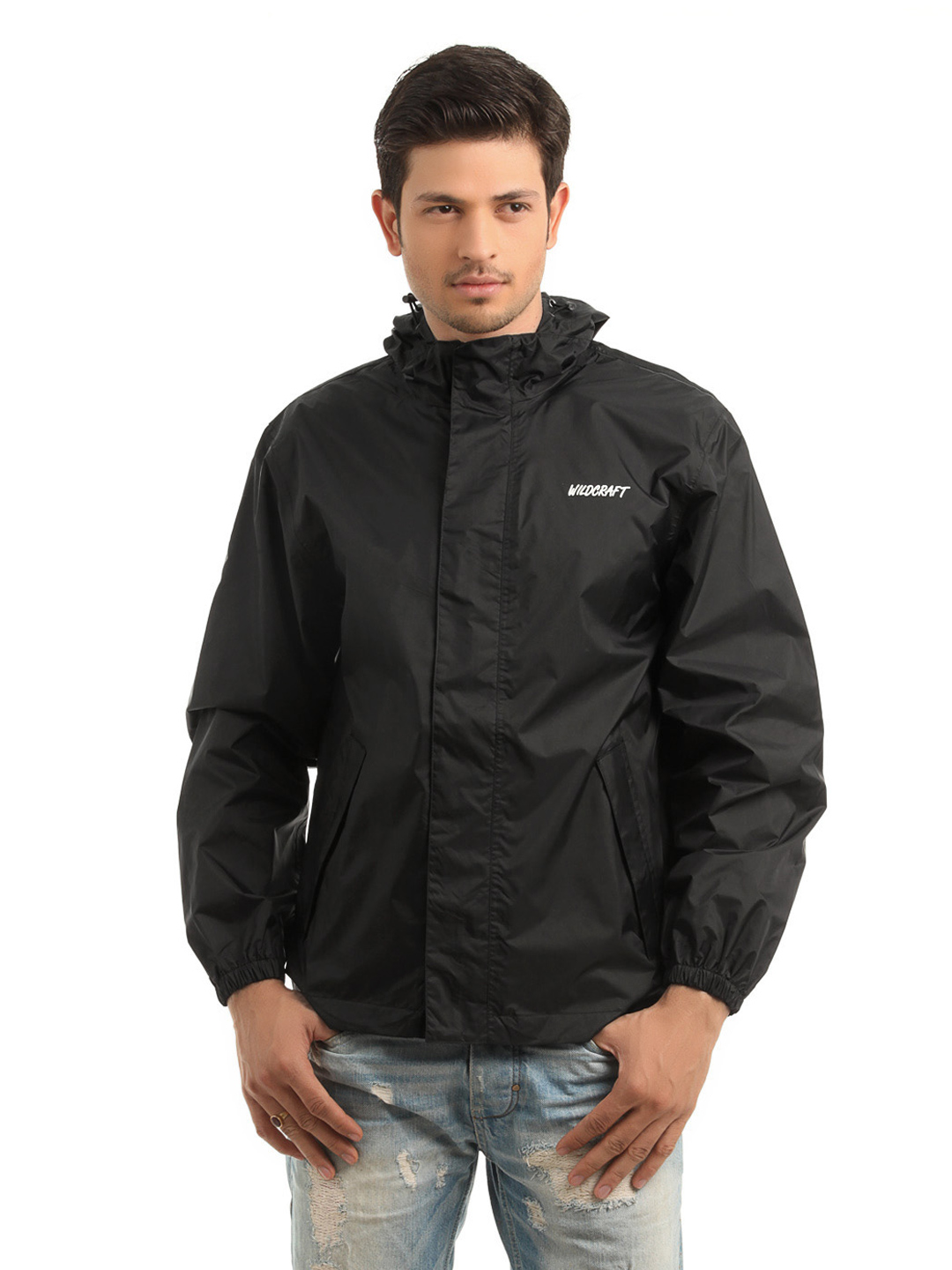 Wildcraft Men Black Rain Jacket