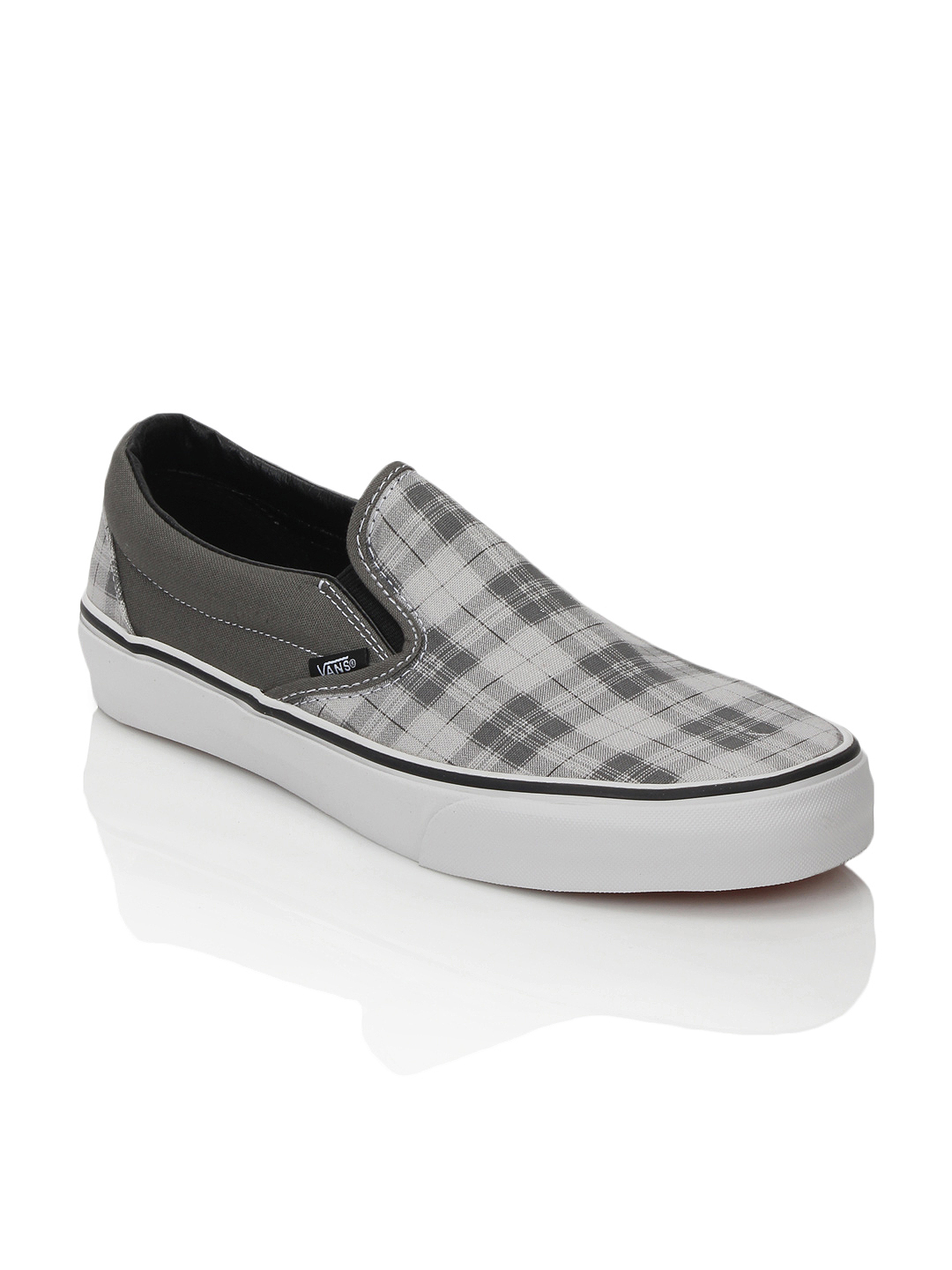 Vans Men Classic Slip-On Grey Shoes