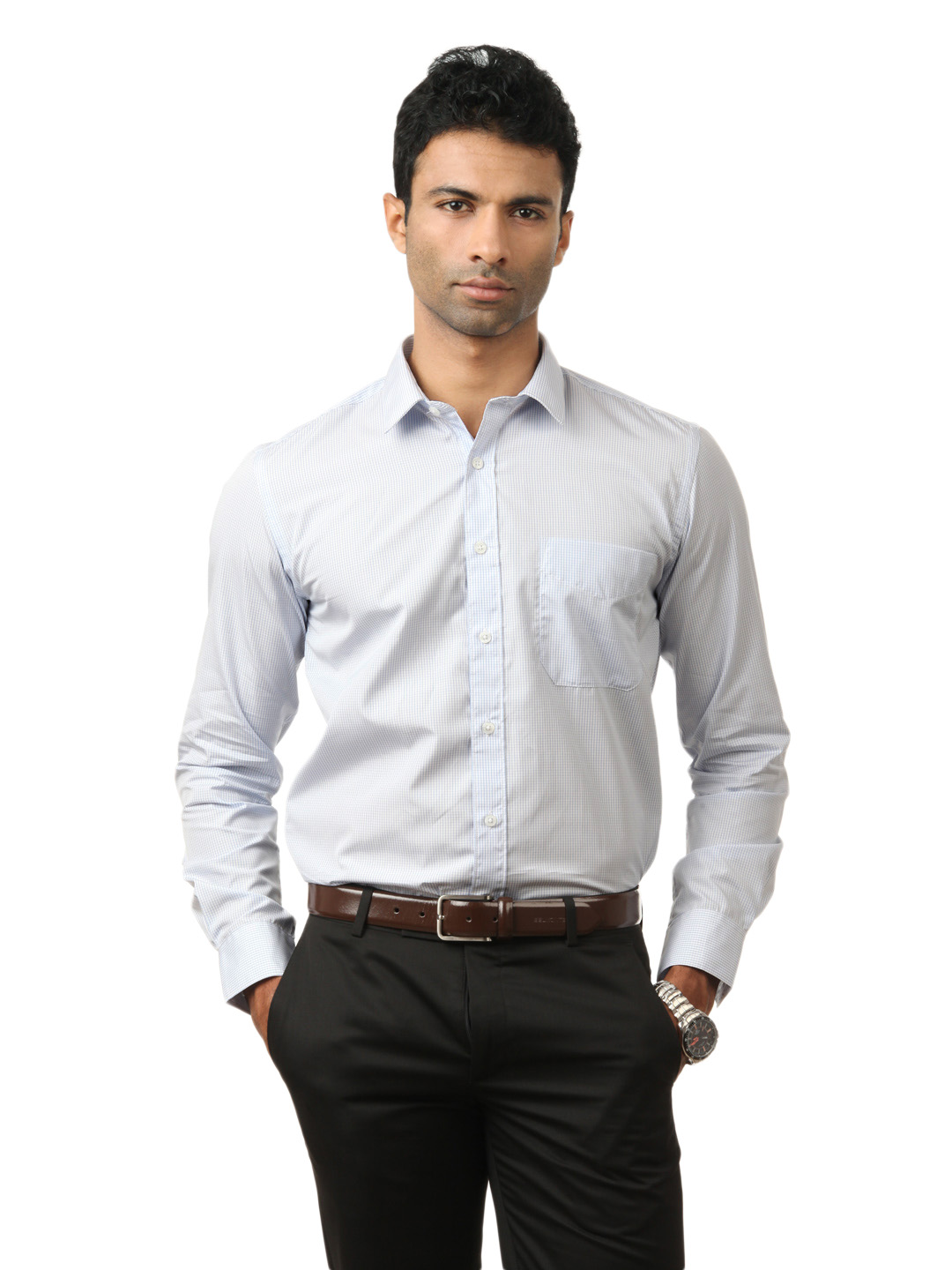 Black Coffee Men White Shirt
