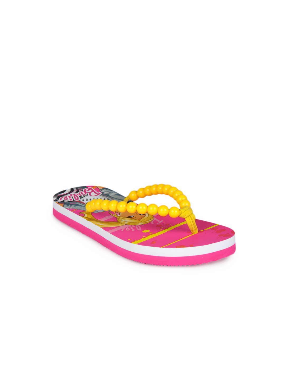 Barbie Girls Pink Flip Flops