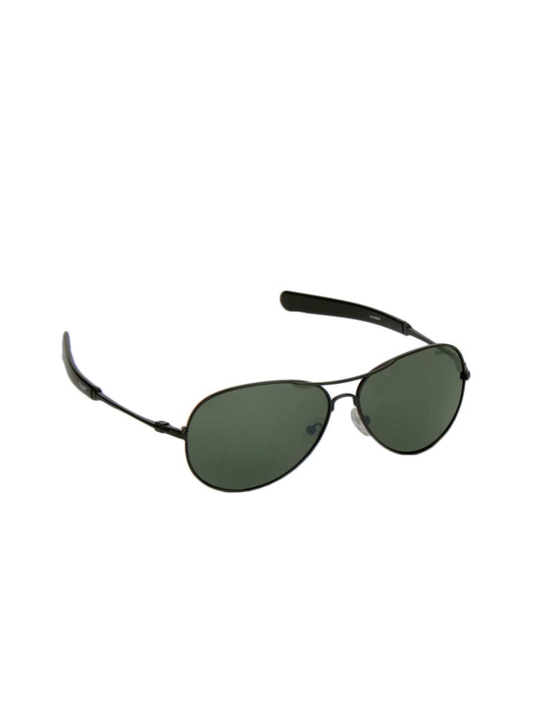 Park Avenue Men Black Frame Sunglasses