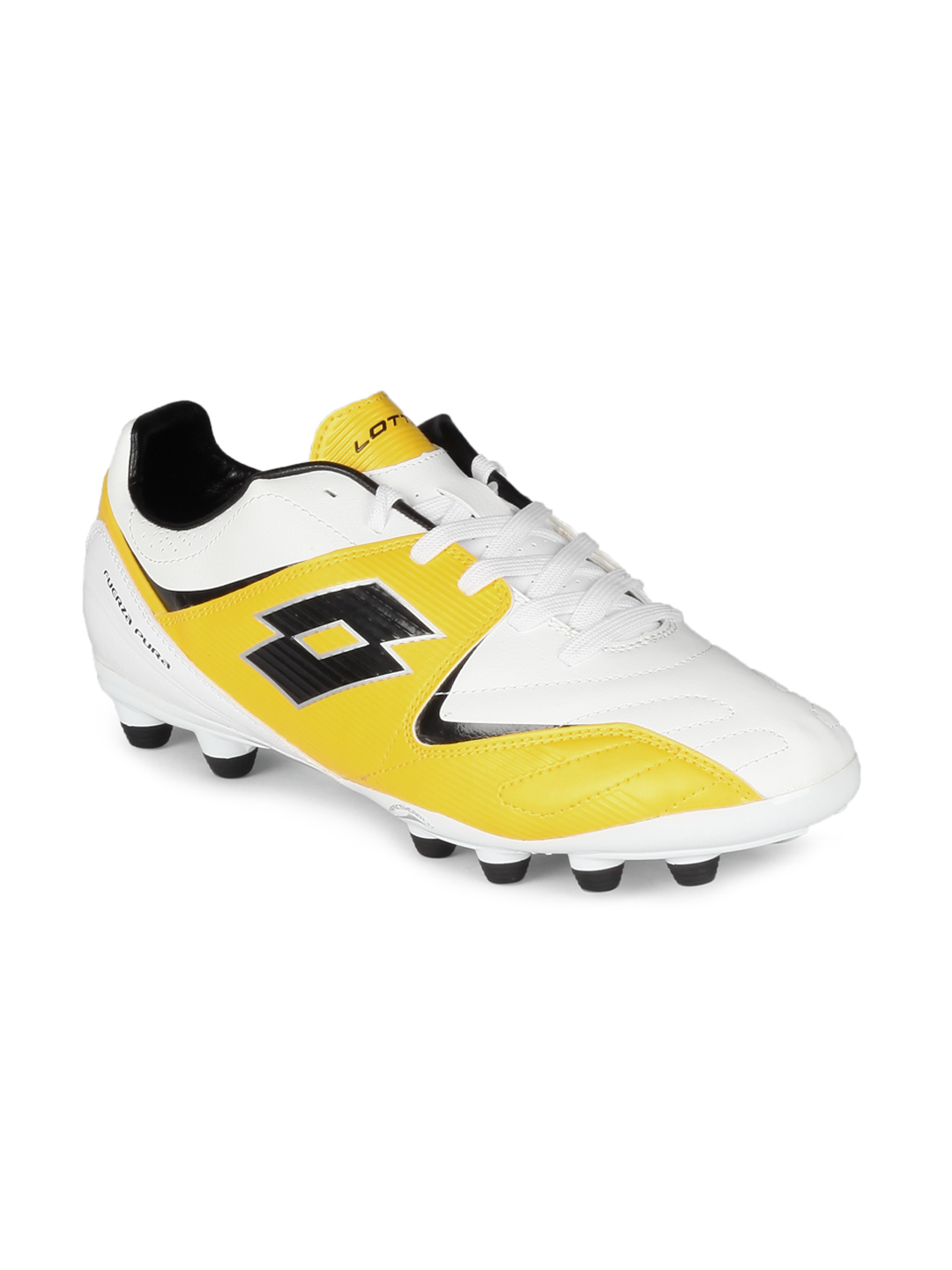 Lotto Men L500 FG White Sports Shoes