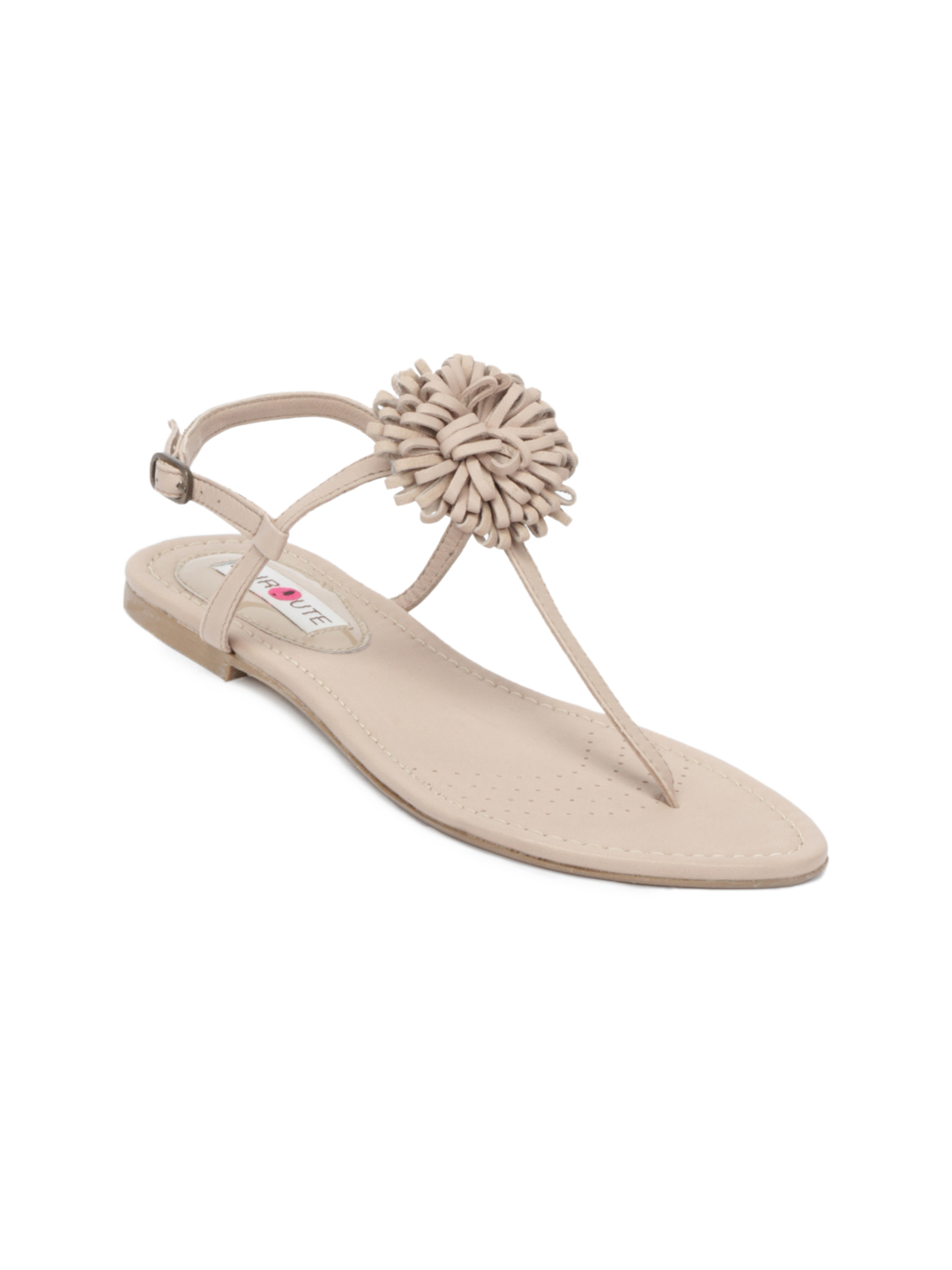 Enroute Women Beige Sandals
