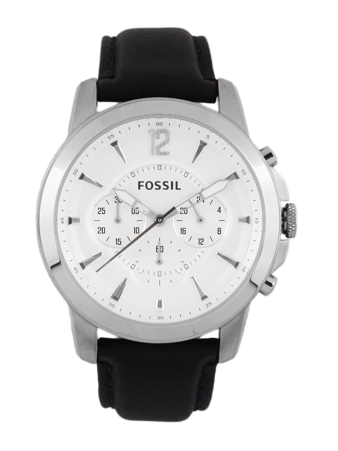 Fossil Men White Dial Analog Chronograph Watch