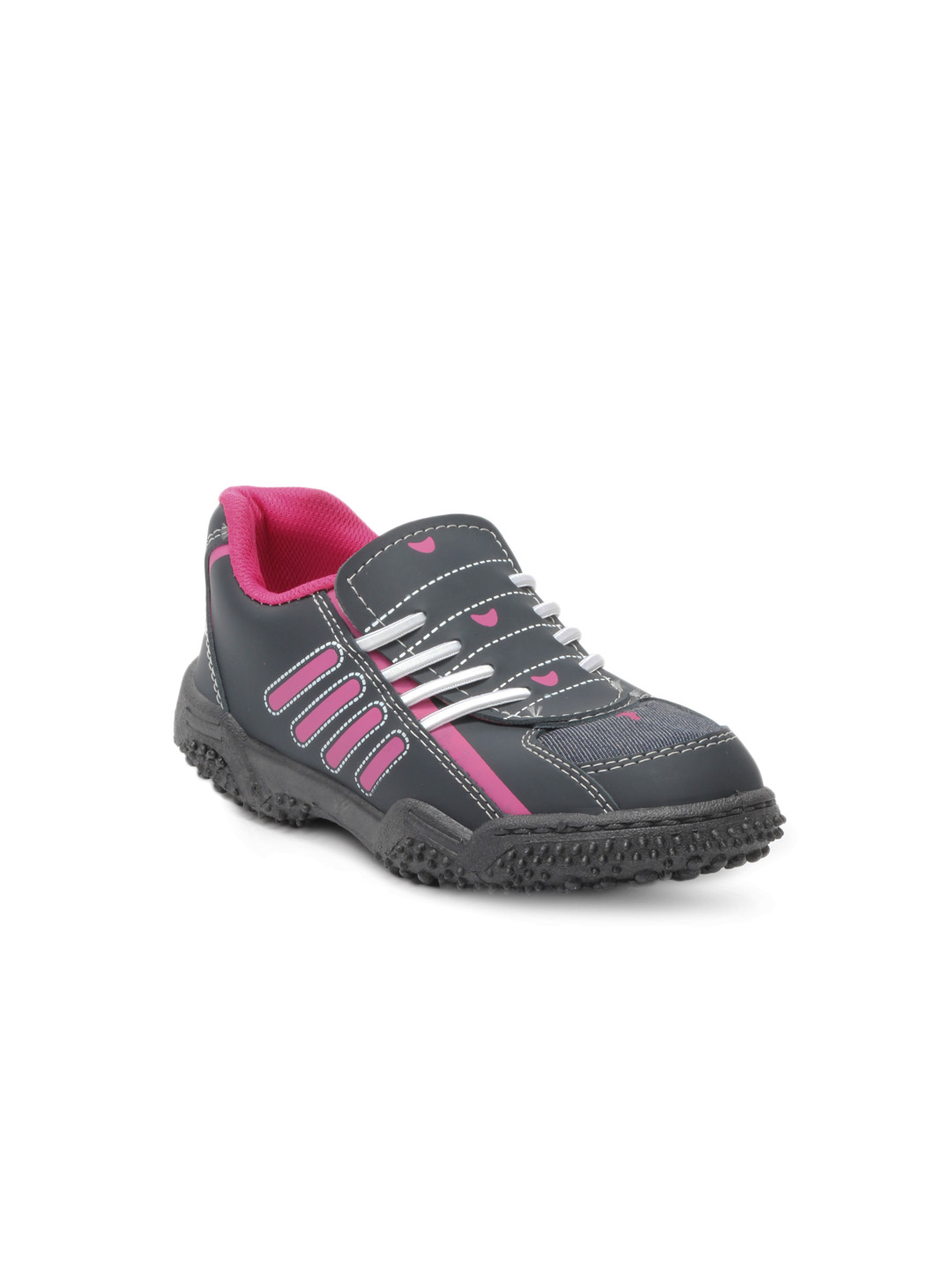 Footfun Kids Unisex Grey Shoes