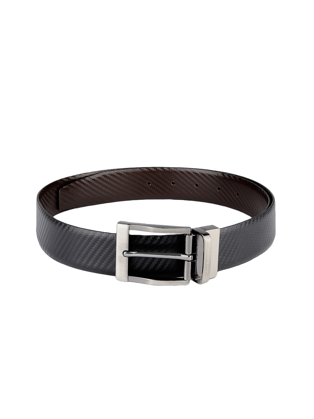 Van Heusen Men Black and Brown Reversible Belt