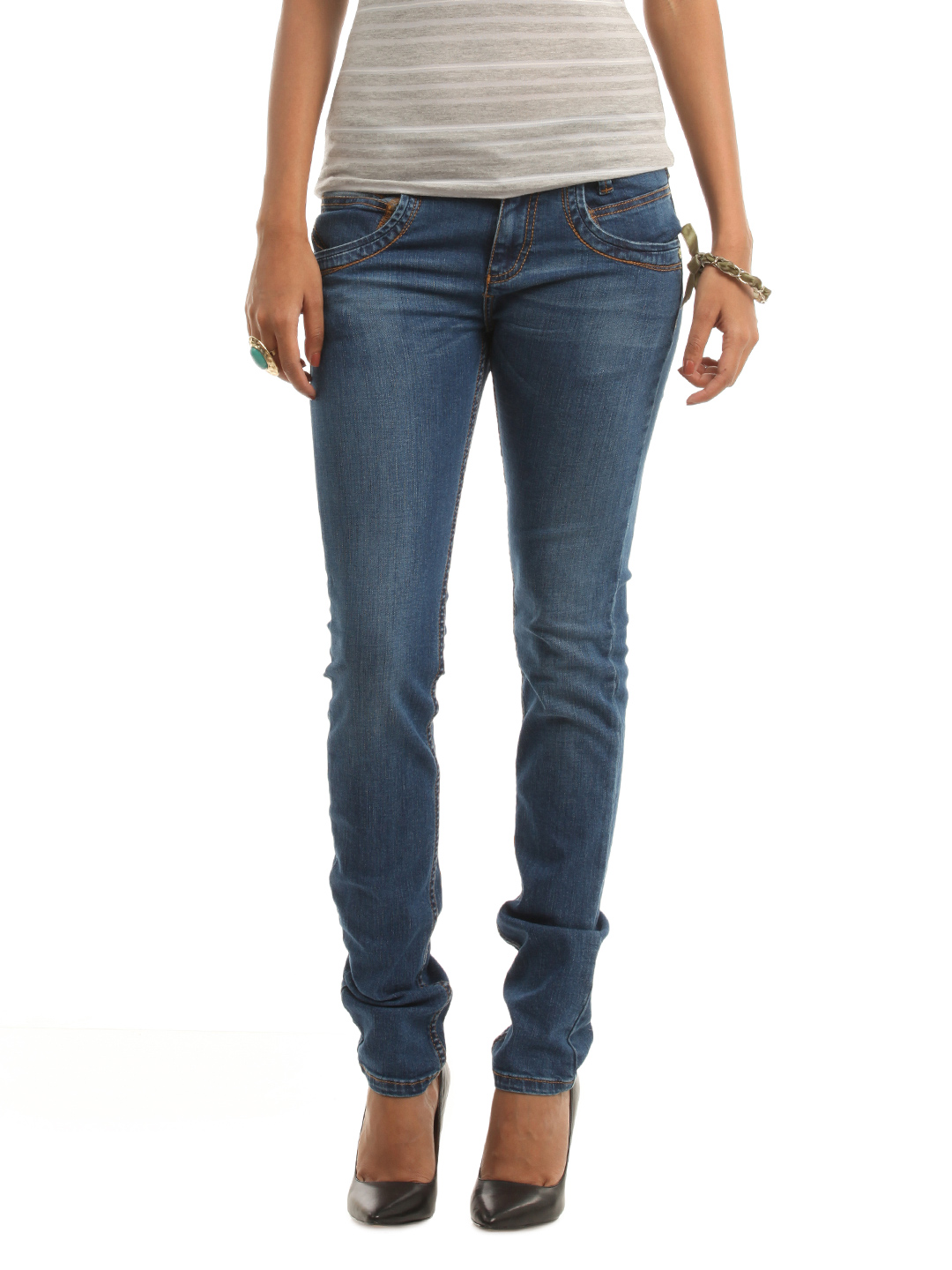 Wrangler Women Blue Molly Jeans