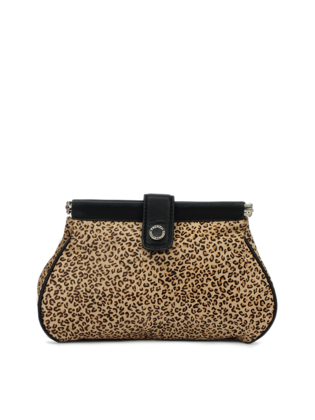 French Connection Women  Brown Clutch