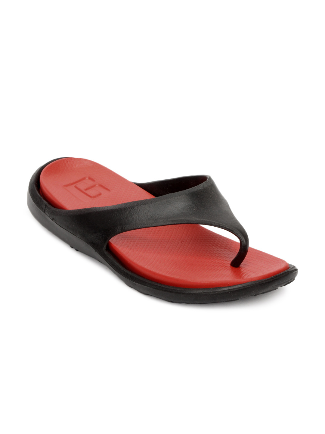 Gliders Unisex Red Spiner Flip Flops