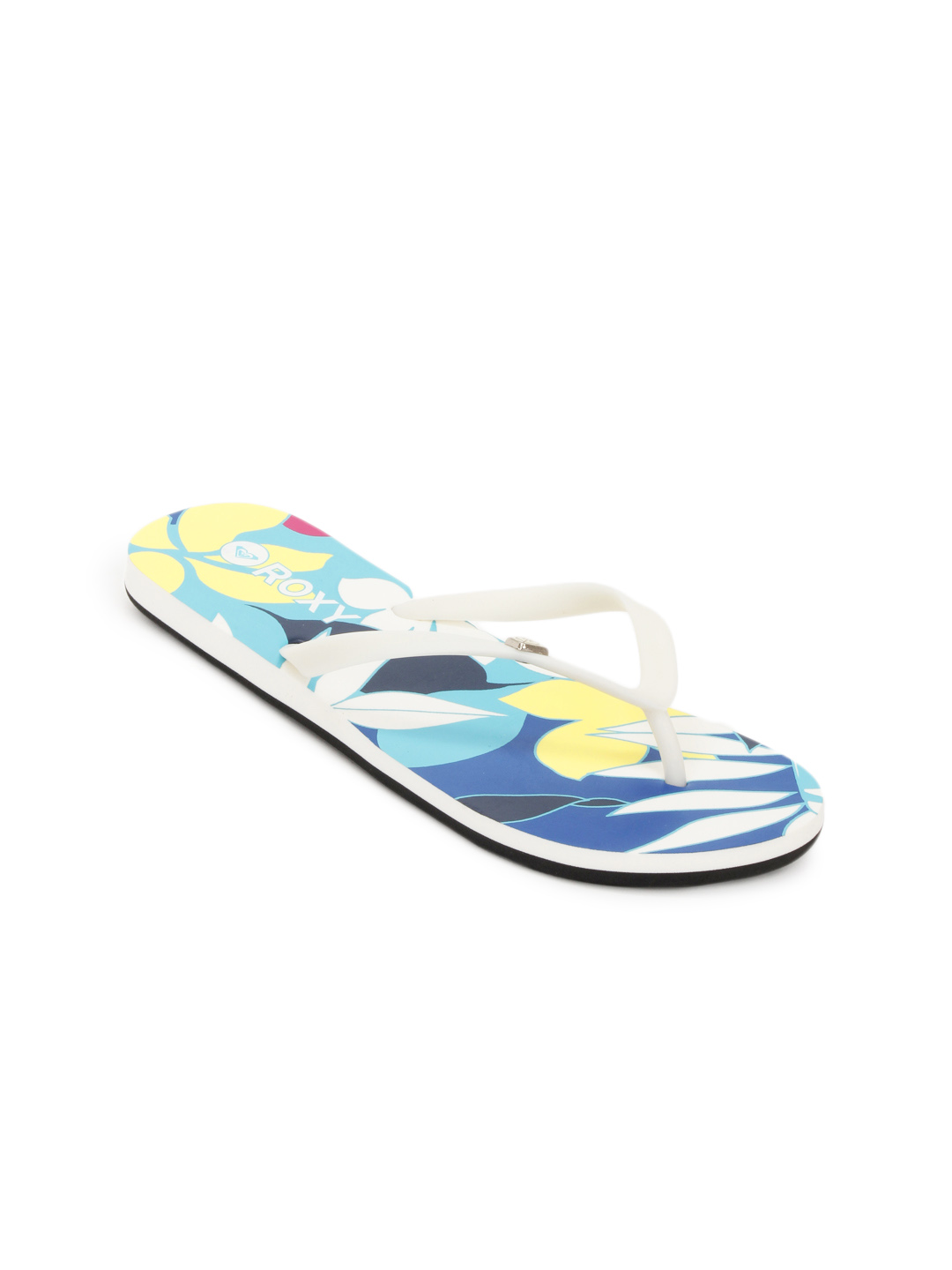 Roxy Women White Flip Flops