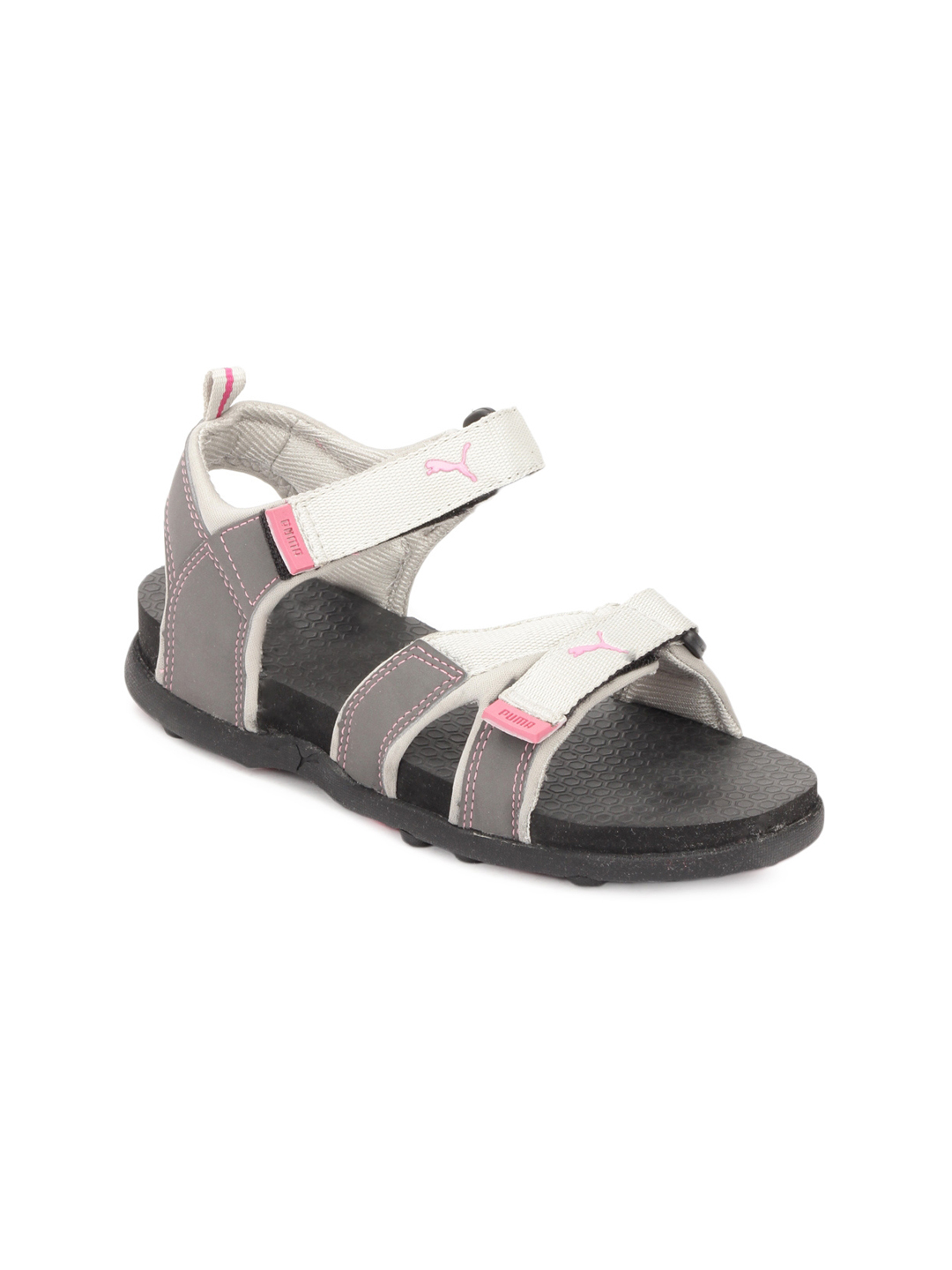 Puma Women Grey Techno Sandals
