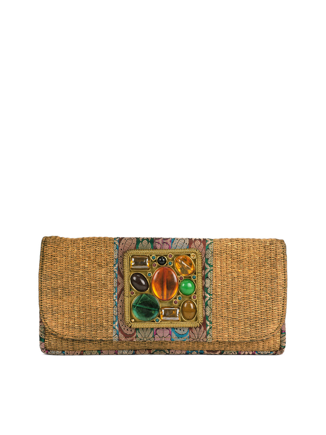 Rocia Women Brown Clutch