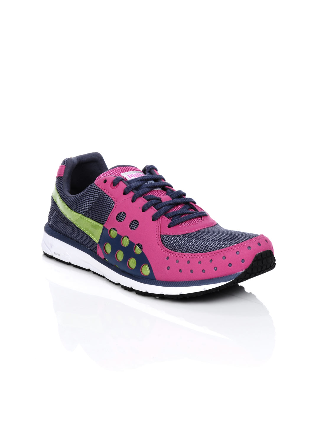 Puma Women Faas 300 Blue & Pink Sports Shoes