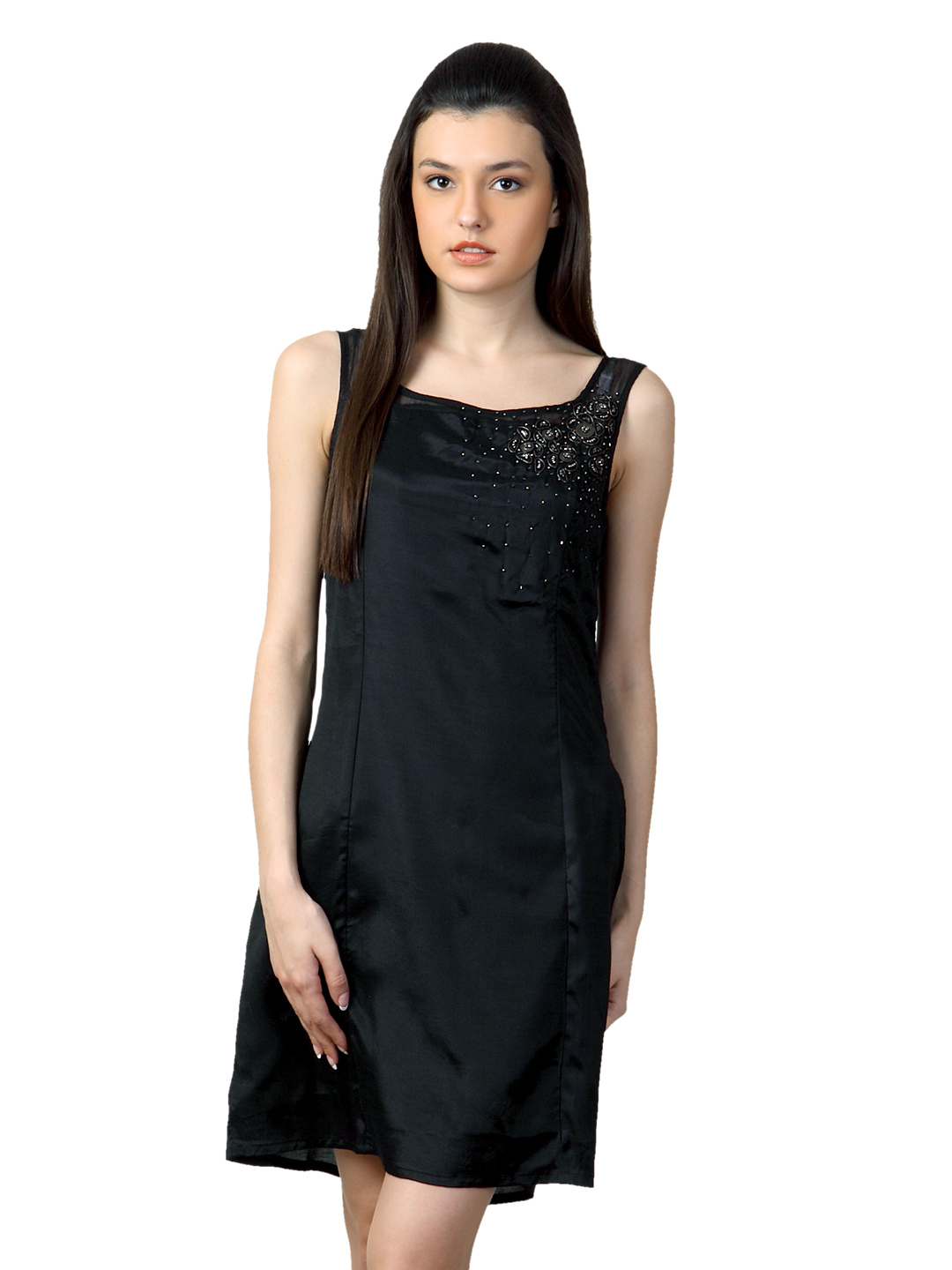 Sepia Women Black Dress
