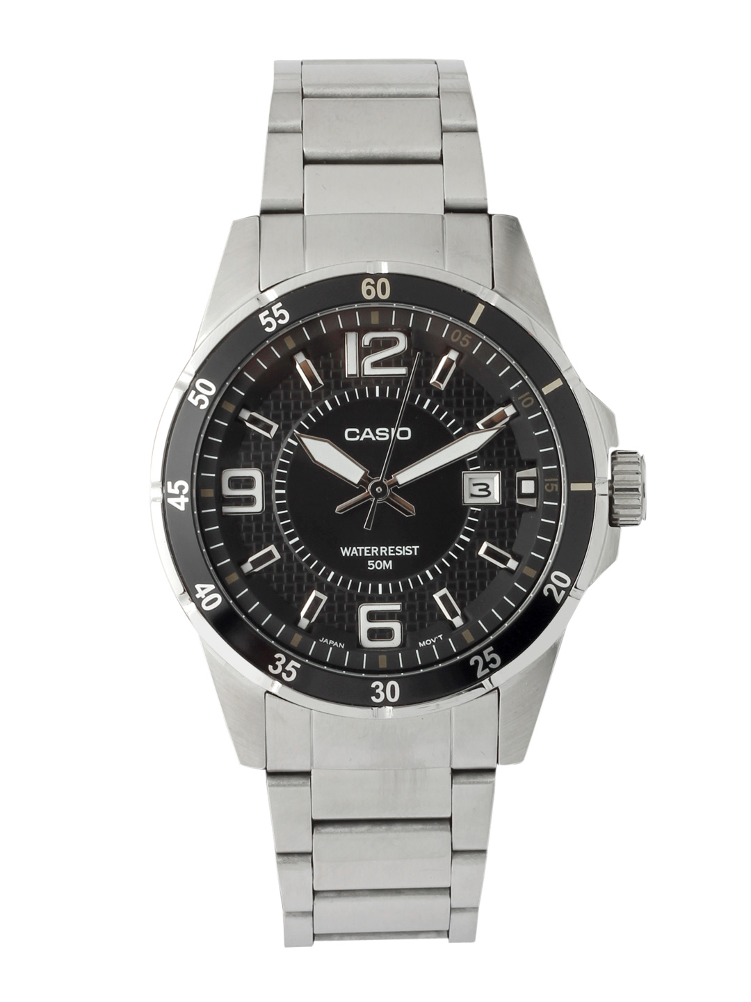 Casio Men Black Dial Watch