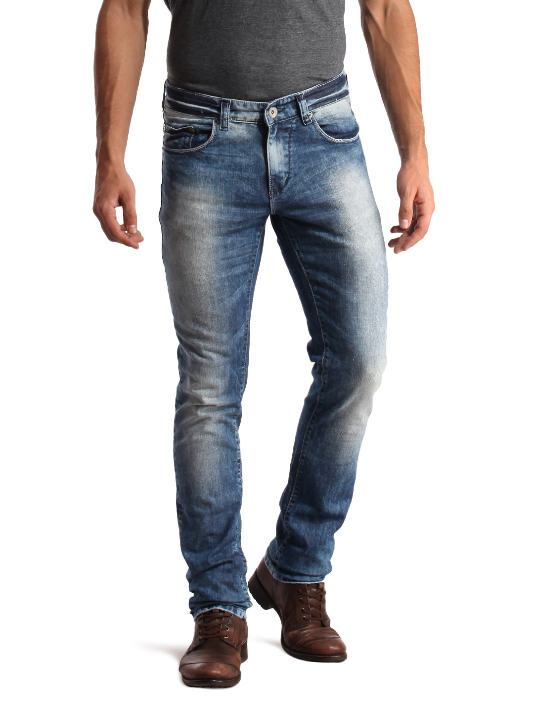 Spykar Men Blue Jeans