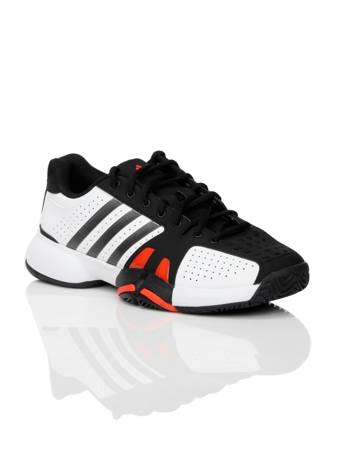 Adidas Men Barricade Team Black Sports Shoes