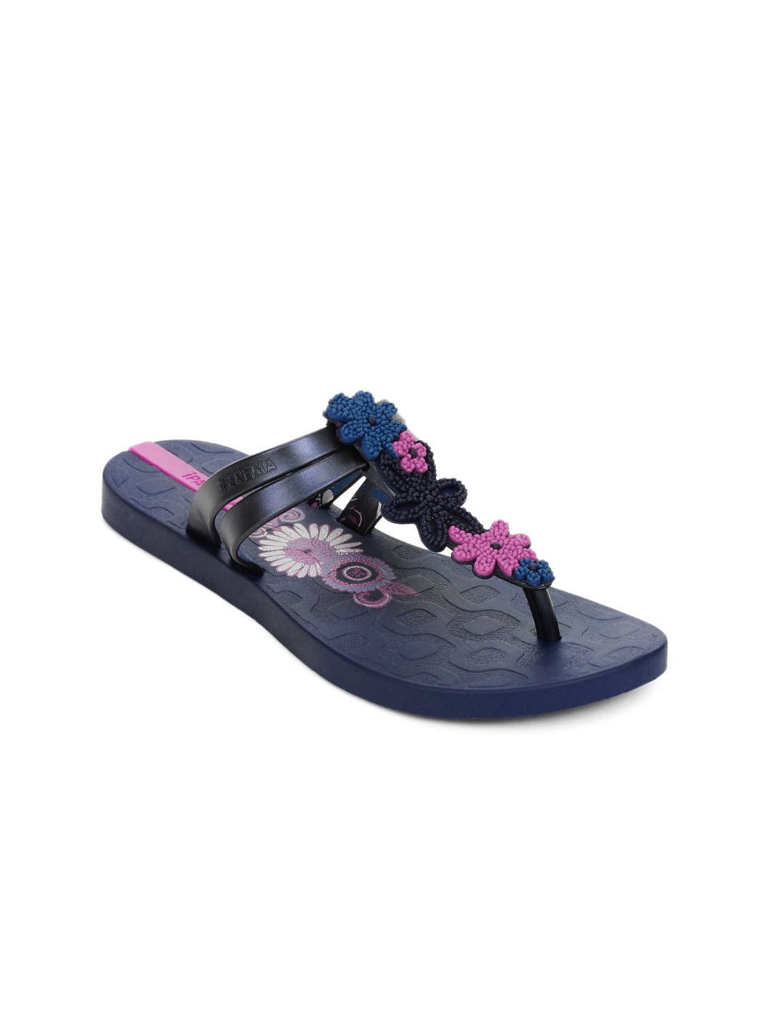 iPanema Women Ritmos Navy Blue Sandals