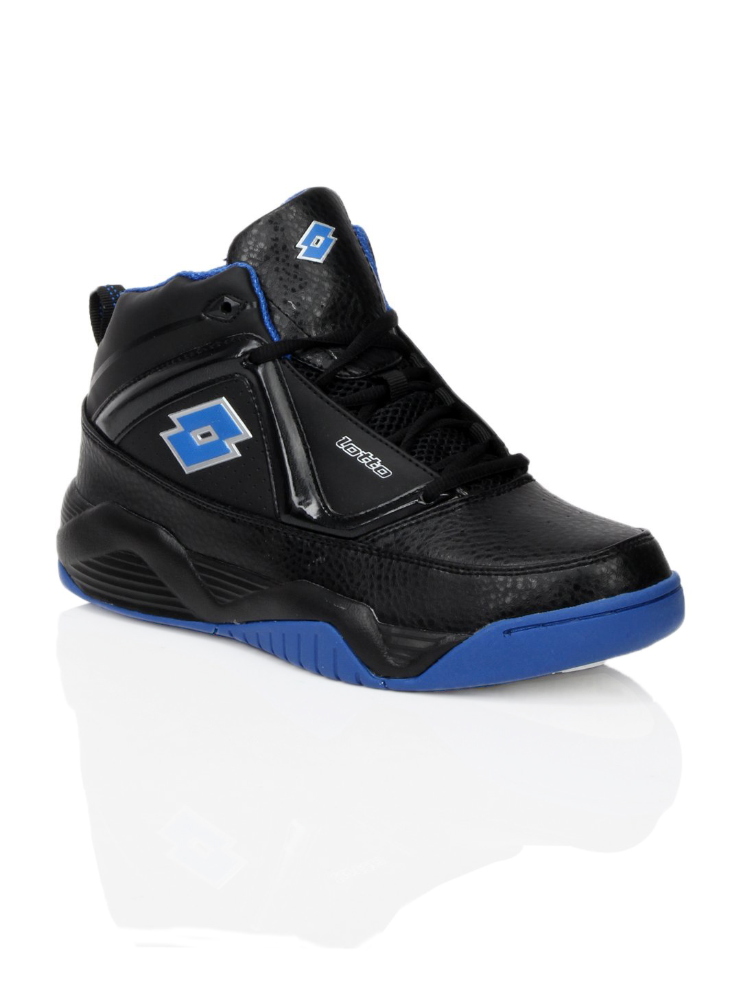 Lotto Men Dunk Hi Black Sports Shoes