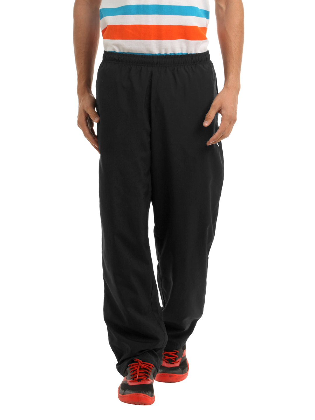 Puma Men Black Track Pants