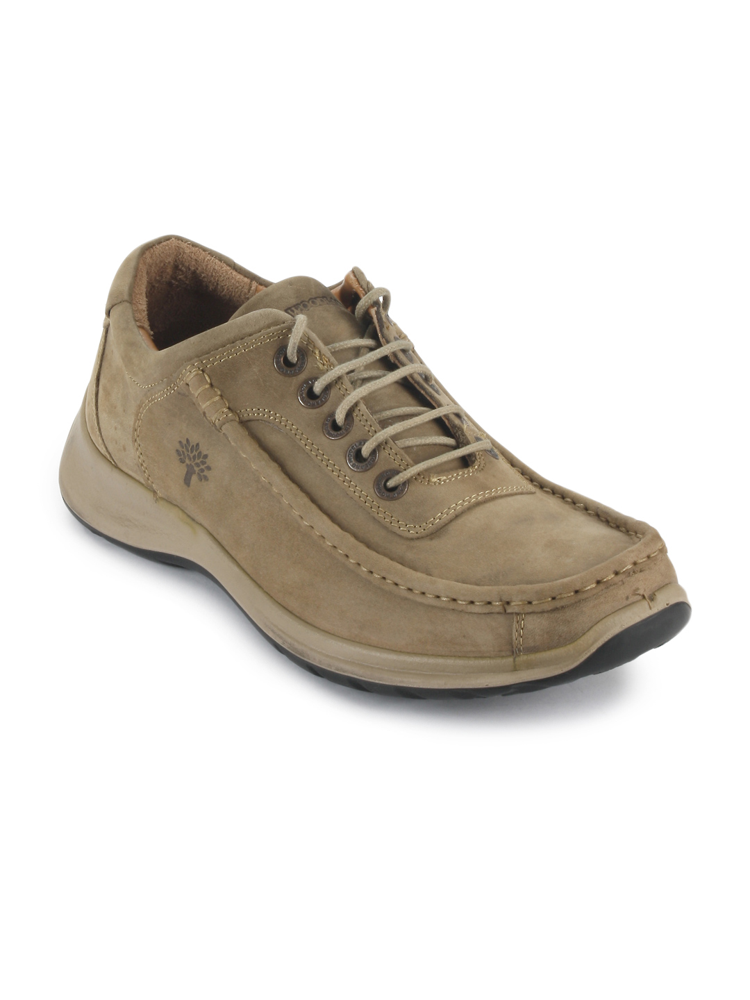 Woodland Men Khaki Casual Shoes