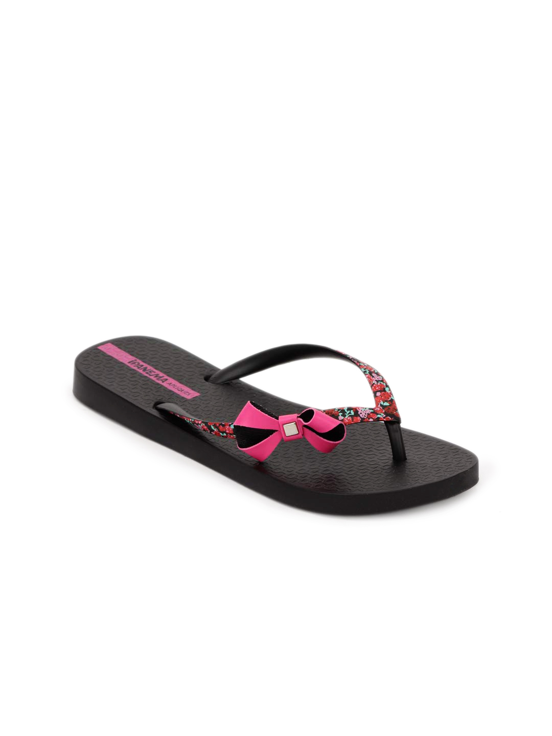 iPanema Women Black Flip Flops