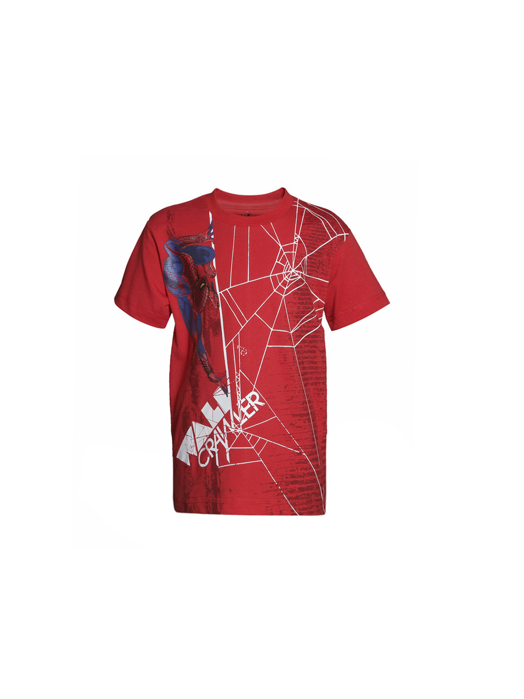 The Amazing Spiderman Boys Red T-Shirt