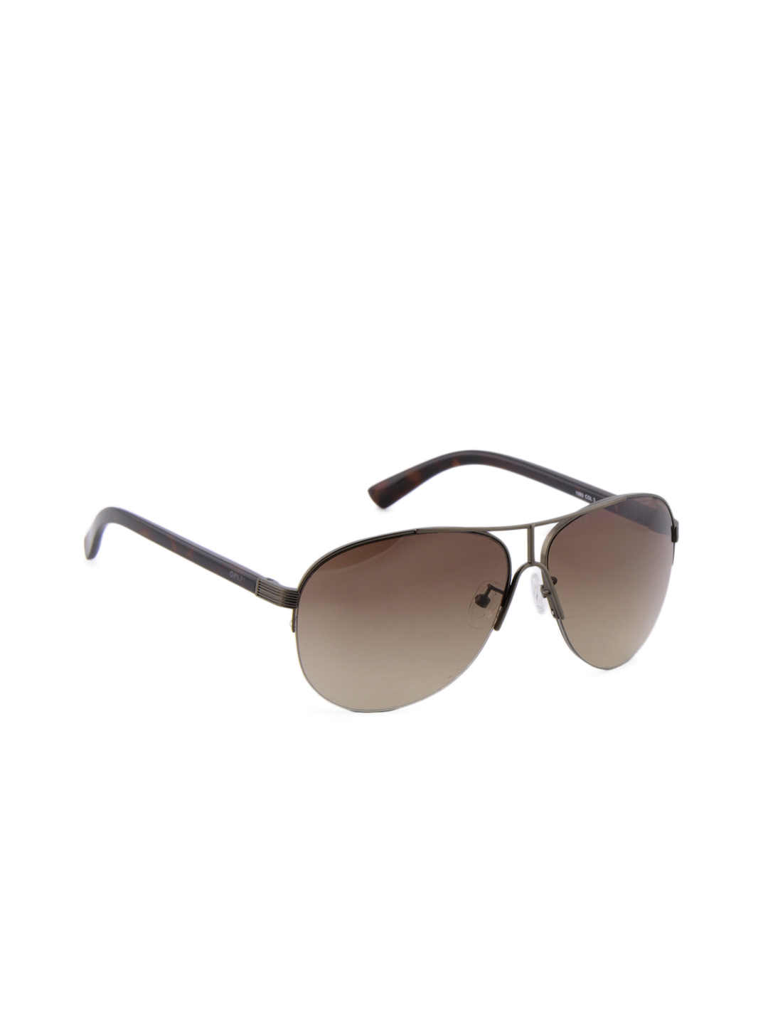 Opium Men Aviator Brown Sunglass