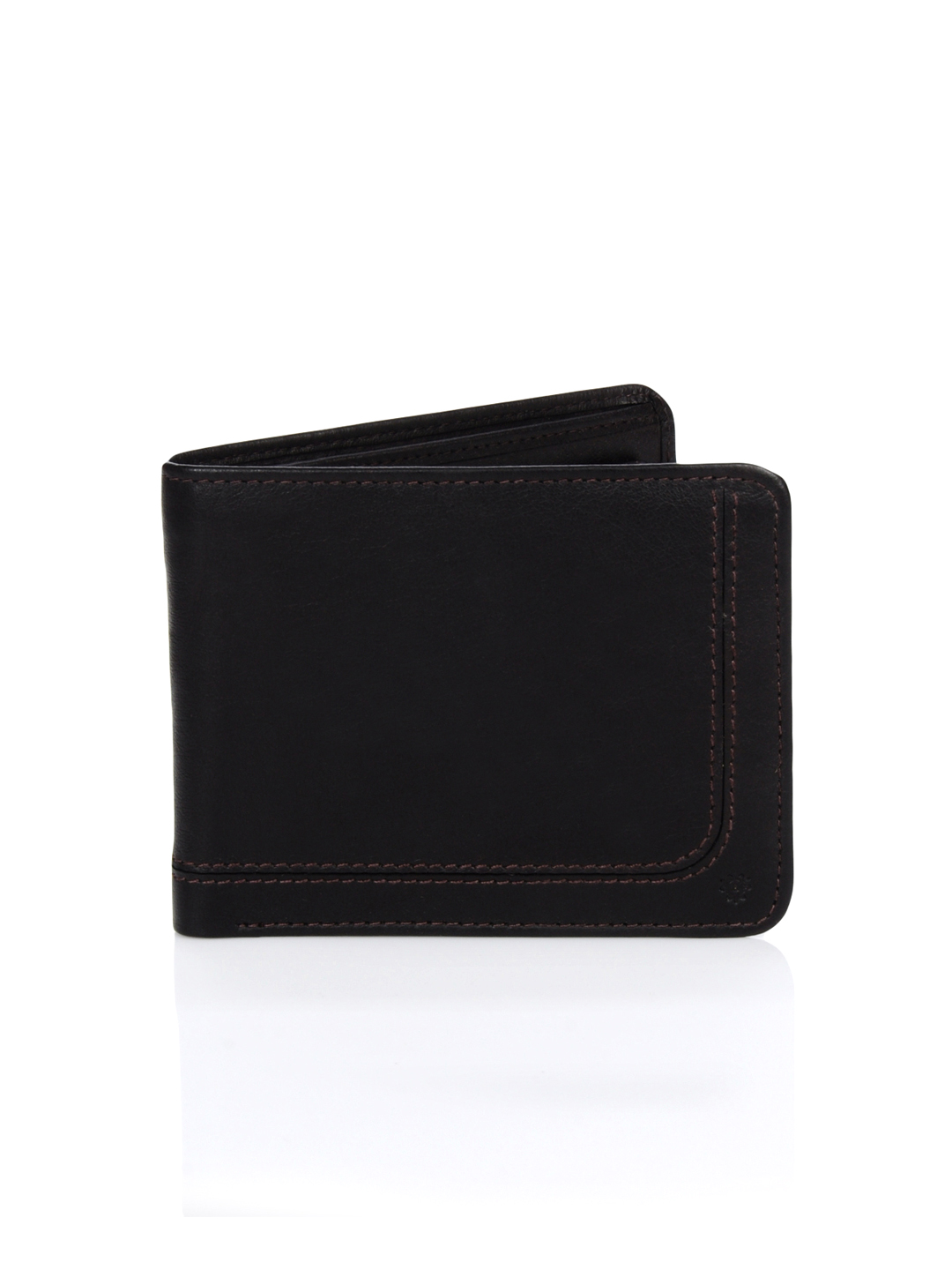 Turtle Men Leather Brown Wallet