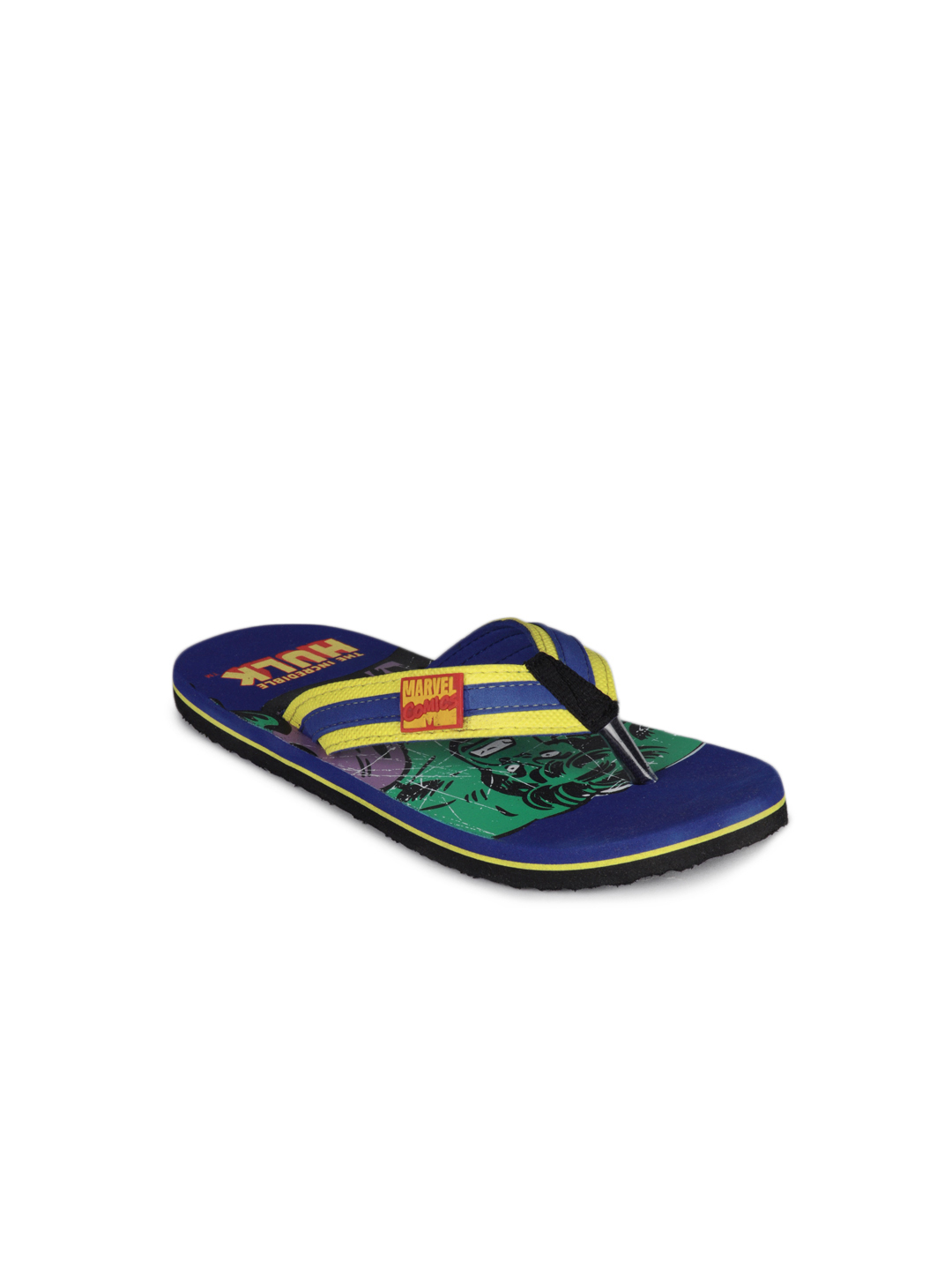 Marvel Boys Blue Flip Flops