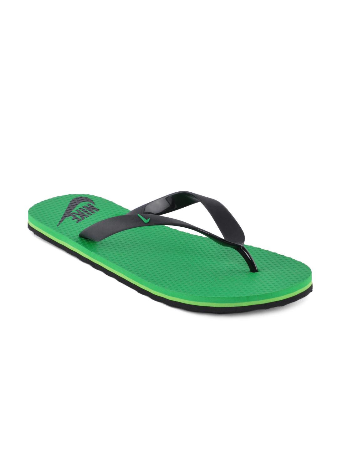Nike Men Aquahype Green Flip Flops