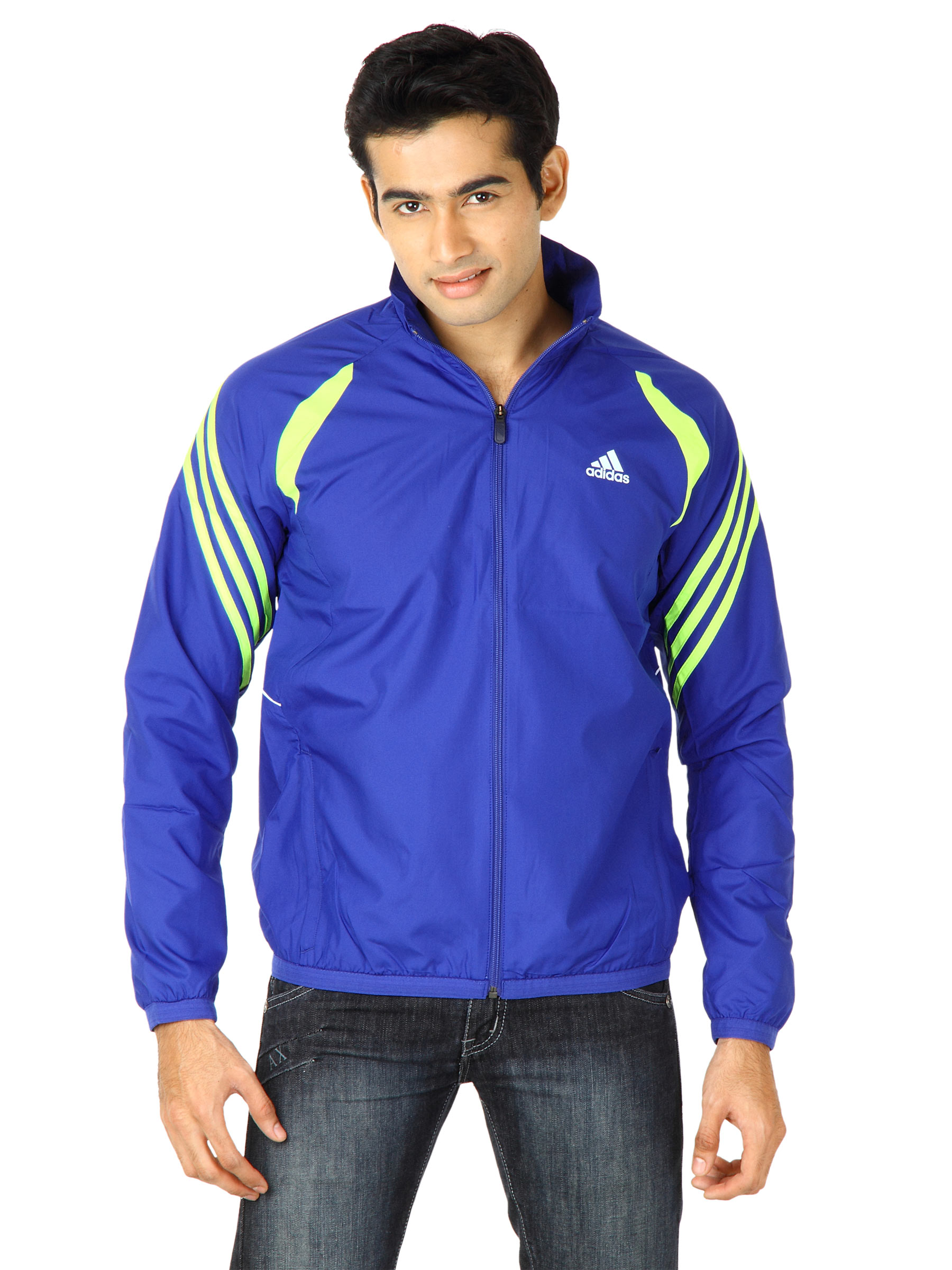 Adidas Men Adna Blue Jackets
