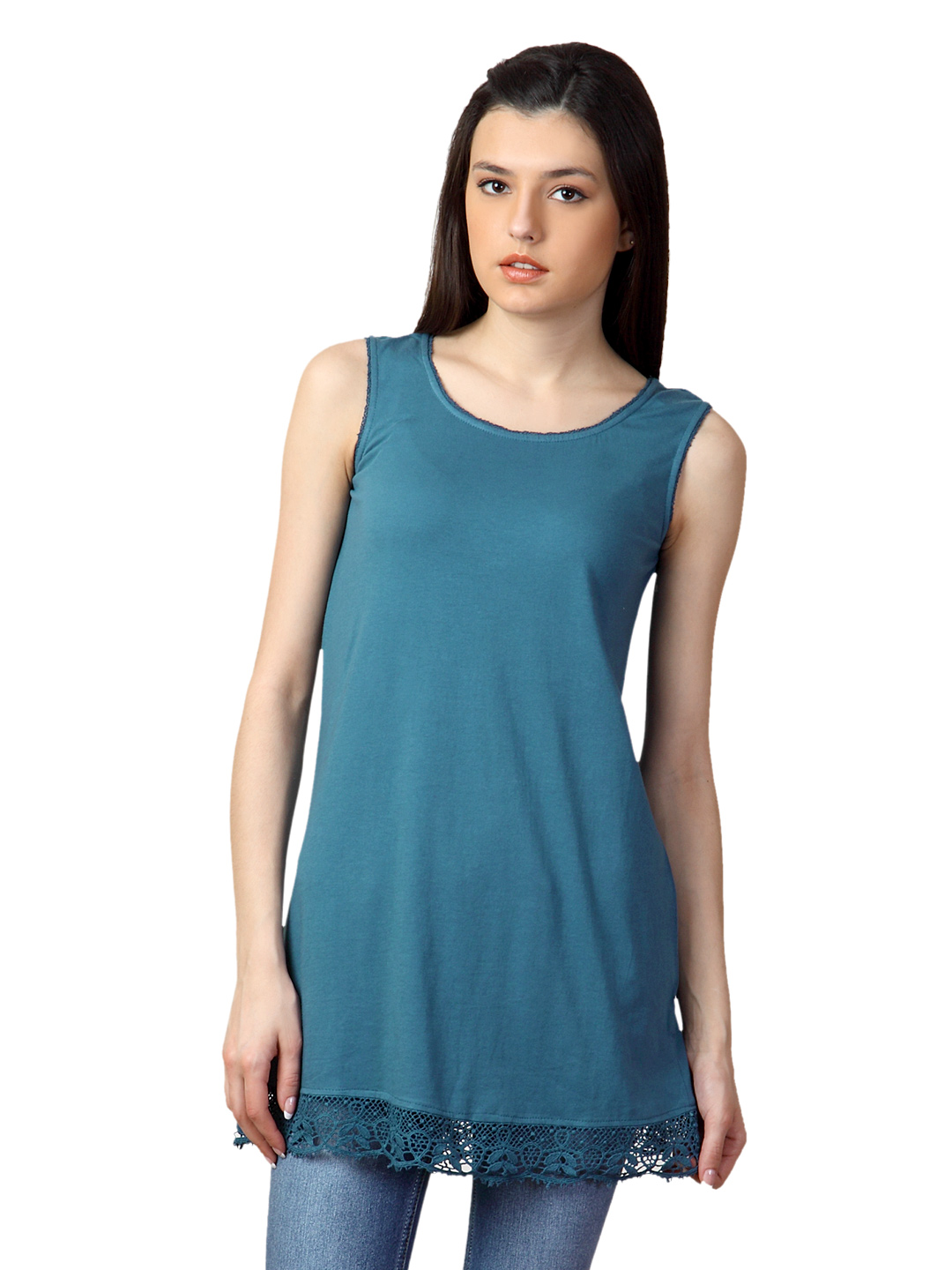 W Women Blue Tunic