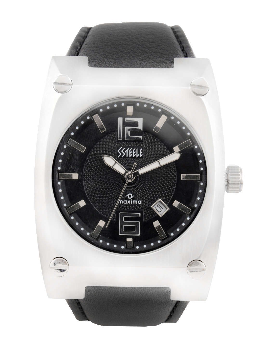 Maxima Men Black Dial Watch